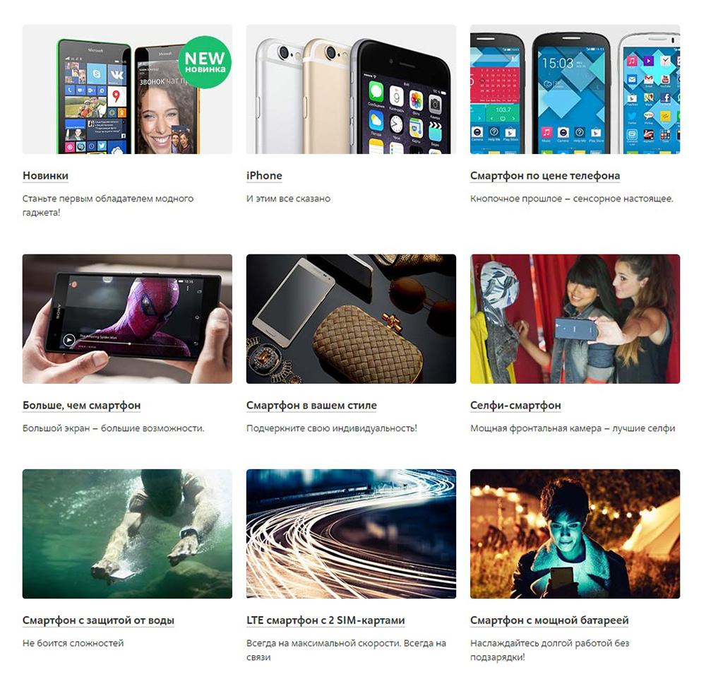 Класс смартфона